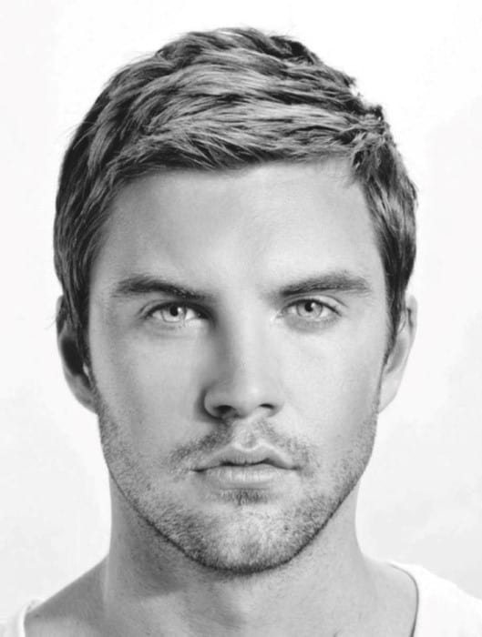 Terrific Top 50 Best Short Haircuts For Men Frame Your Jawline Short Hairstyles Gunalazisus