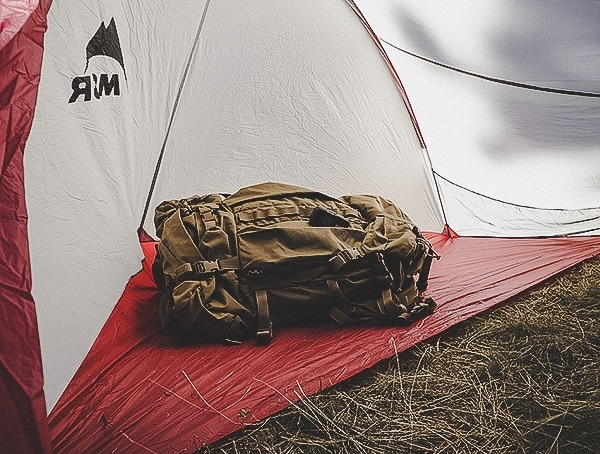 Vestibule With Mysytery Ranch Marshall Backpack Msr Hubba Tour 3 Tent Interior