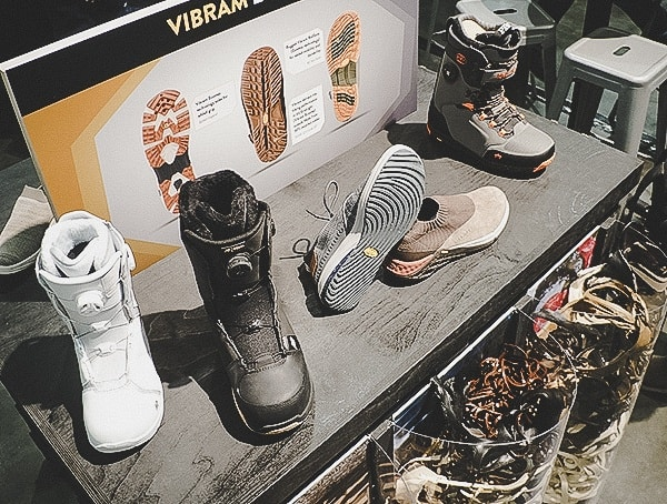 Vibram Ecco Outsole Outdoor Retailer Snow Show 2019