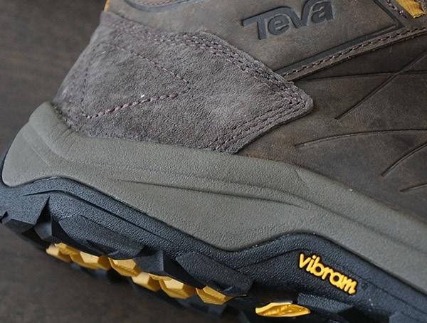 Vibram Teva Arrowood Riva Wp Shoes Side Outsole