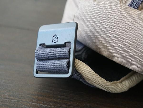 Victorinox Deluxe Rolltop Backpack Strap Metal Hardware