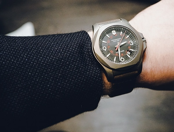 Victorinox Inox Watch Business Suit Style