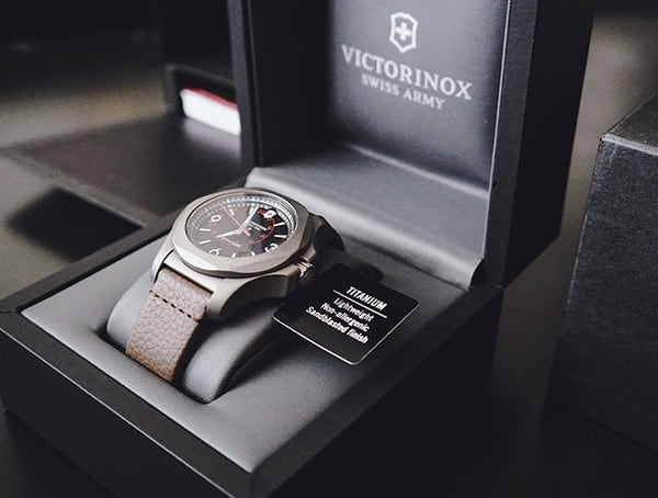 Victorinox Inox Watch Review Unboxing