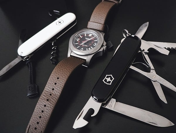 Victorinox Inox Watch With Swiss Army Knife Tools