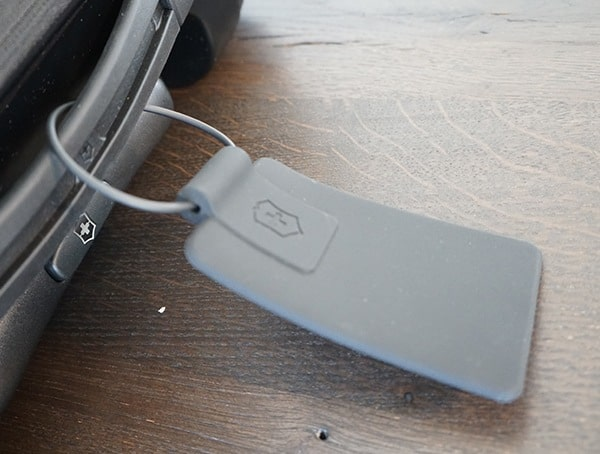 Victorinox Spectra 2 0 Dual Access Global Carry On Front Rubber Id Travel Tag