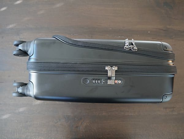 Victorinox Spectra Global Carry On Locking Hardside Suitcase For Men