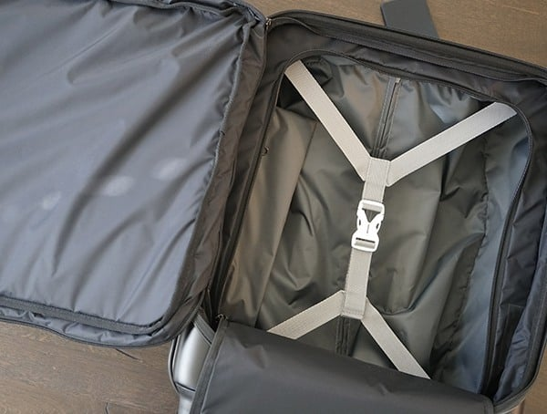 Victorinox Spectra Global Carry On With Y Shaped Compression Straps