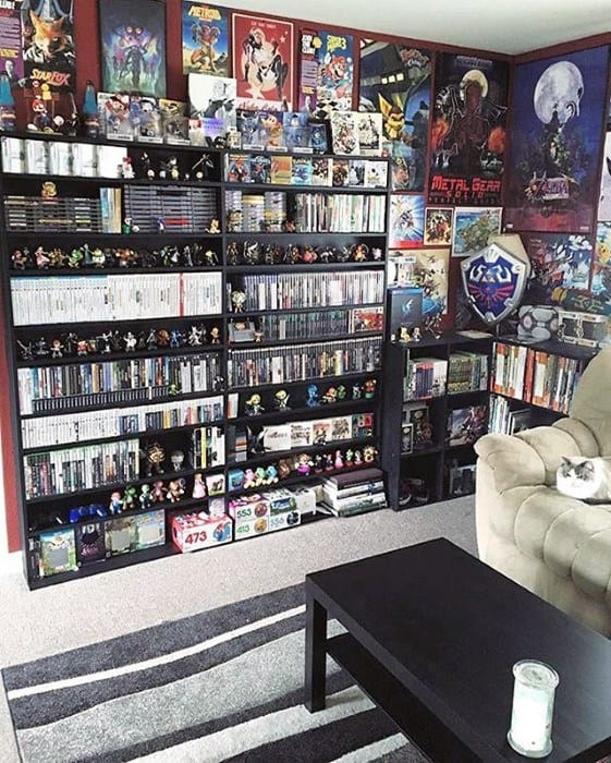 Video Gaming Thememd Guys Man Cave Design Ideas