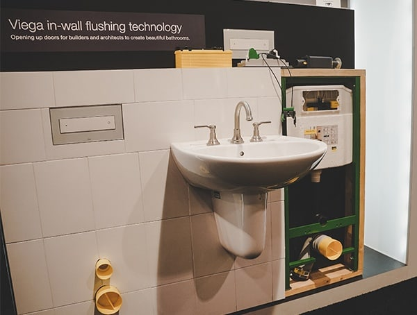 Viega In Wall Flushing Technology 2019 Nahb Show Las Vegas