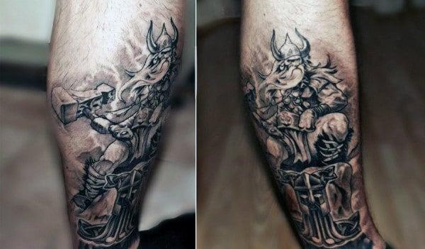 Viking Knotwork Male Tattoos
