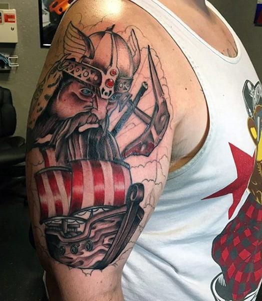 Viking Rune Tattoos For Men On Arm