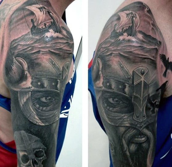 Viking Style Tattoos For Guys