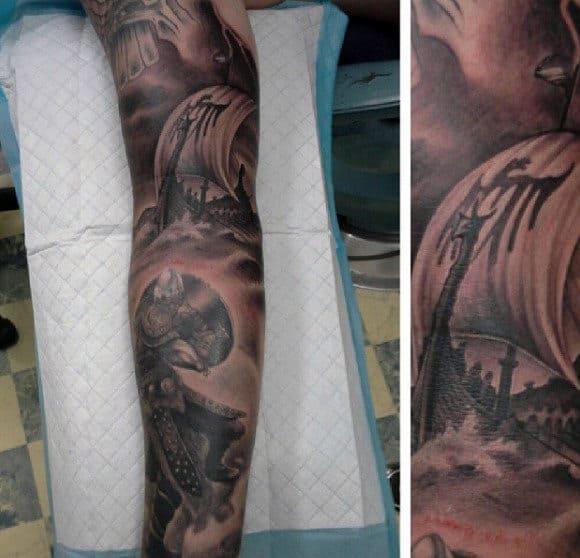 Viking Symbol Tattoos For Men