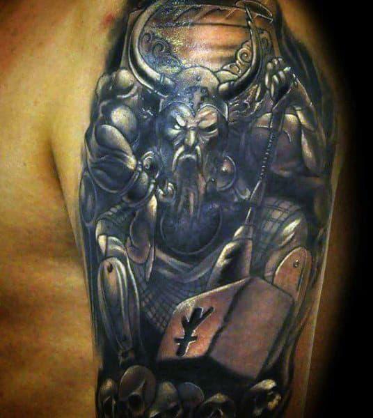 Viking Symbols Tattoos For Guys