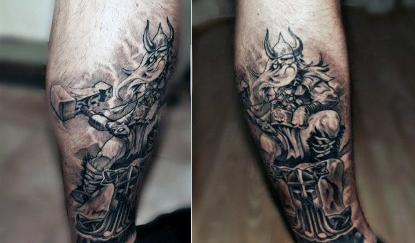 Viking Tattoos Designs Ideas On Man