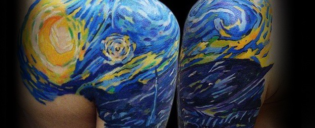 50 Vincent Van Gogh Tattoo Designs For Men Artistic Ideas