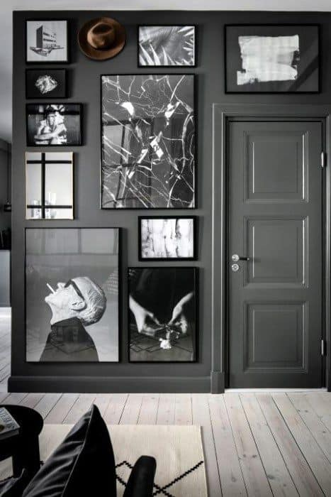 Vintage Black And White Photos Mens Wall Art For Bachelor Pads