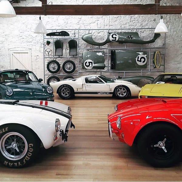 Vintage Cars Dream Garage Design Inspiration