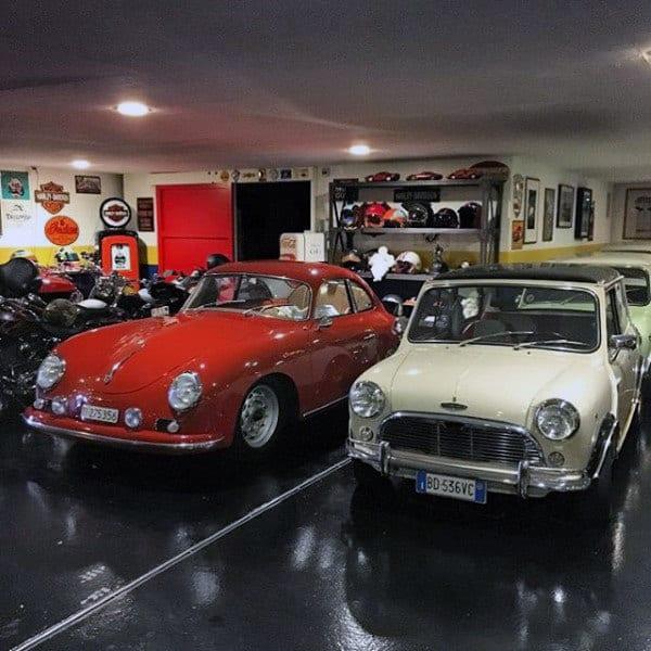 Vintage Classic Car Mens Dream Garage Ideas