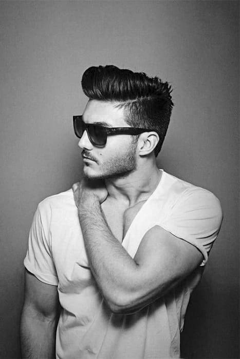 Vintage Classic Male Haircut Ideas