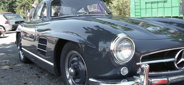 Vintage Classic Mercedes Benz