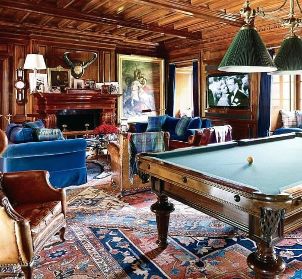 Vintage Decor Ideas For Billiards Room