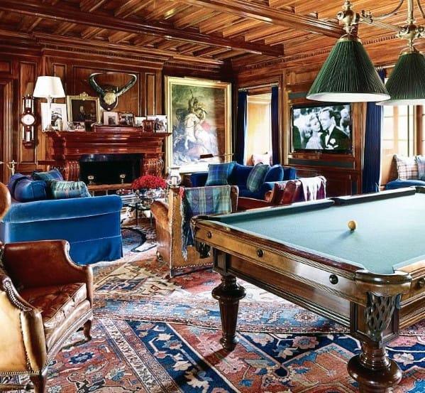 Vintage Decor Ideas For Billiards Room