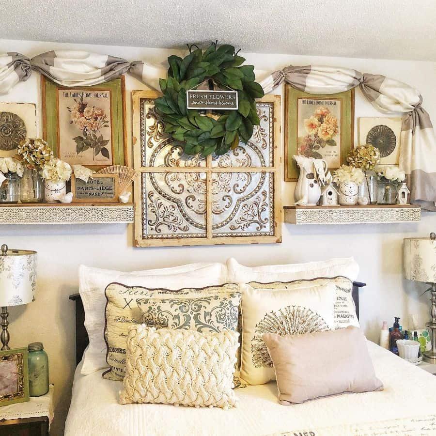 vintage farmhouse bedroom ideas adornedbyamy