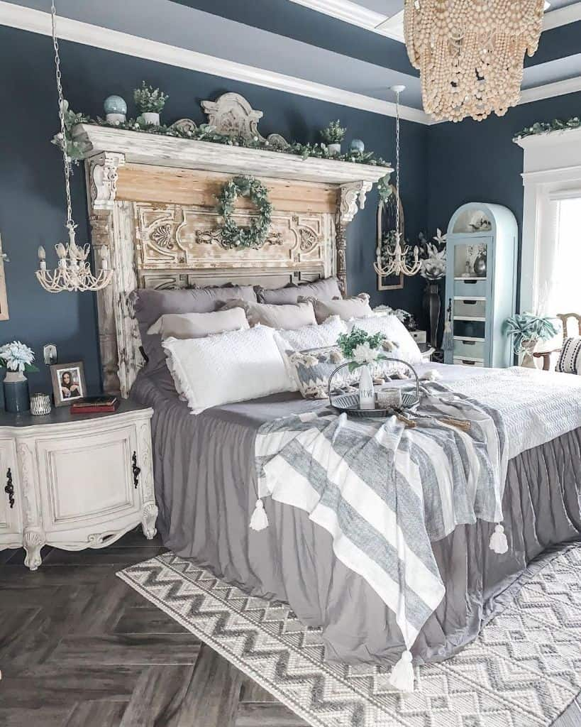 The Top 76 Farmhouse Bedroom Ideas Interior Home And Design