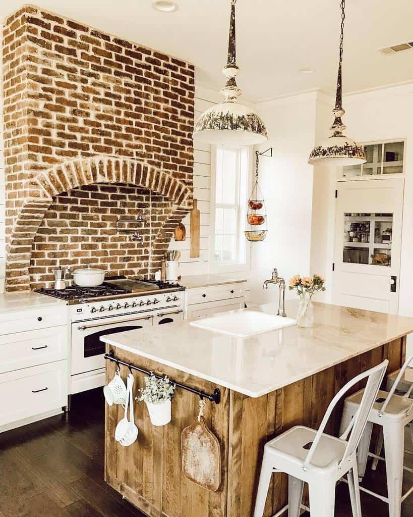 vintage farmhouse kitchen ideas jacobsfarmstead