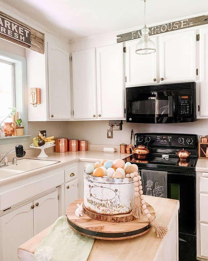 vintage farmhouse kitchen ideas rekindledsigns