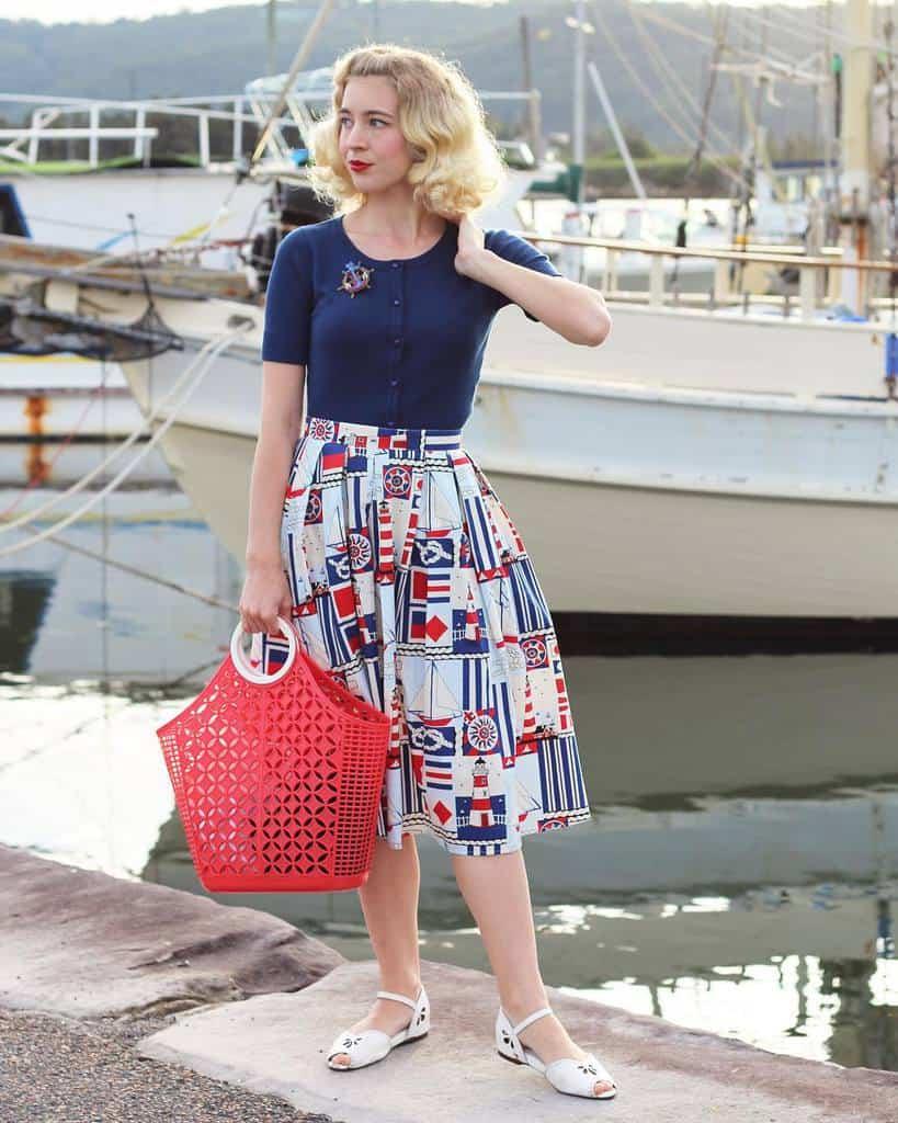 Vintage Fashion Nautical Style