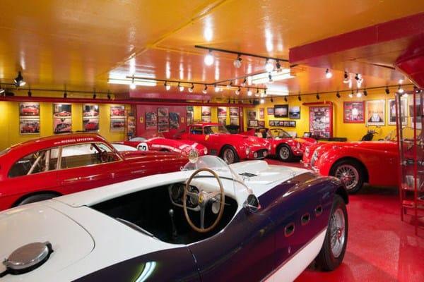 Vintage Ferrari Collectors Dream Garage Designs