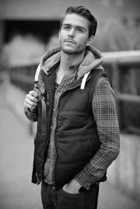 Vintage Hipster Hairstyle For Men