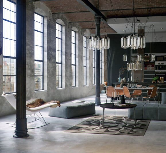 Superb Vintage Industrial Interior Design