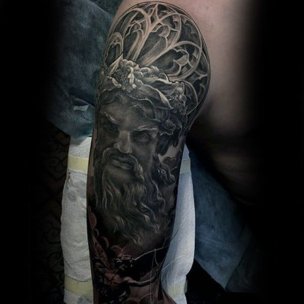 Vintage Insane Mens Full Sleeve Tattoos