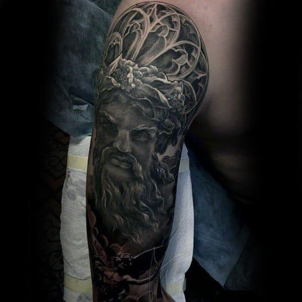 Vintage Insane Mens Full Sleeve Tattoos