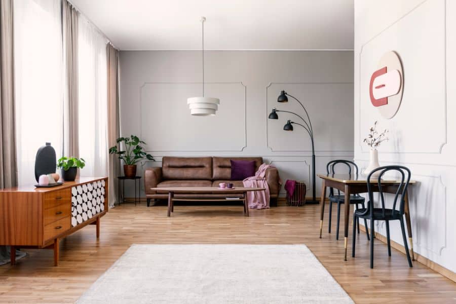 Vintage Interior Of Living Room 5