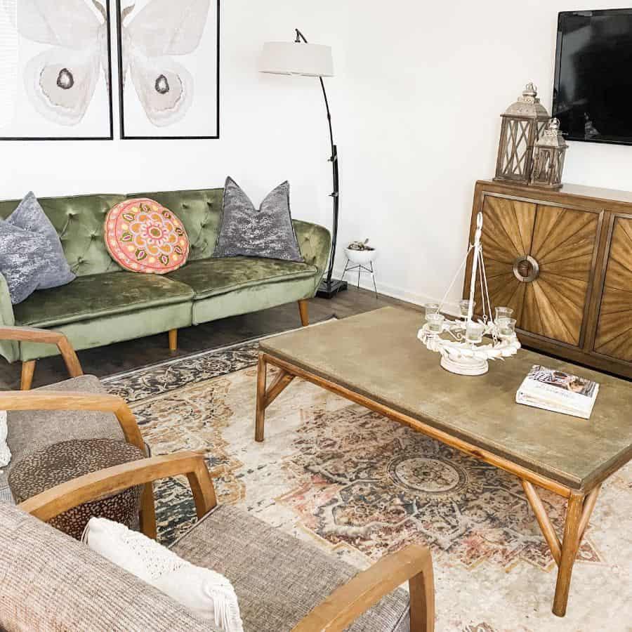 Vintage Interior Of Living Room Alexelliselvispelvis
