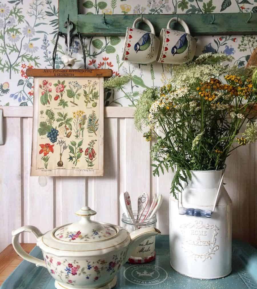 vintage kitchen wall decor ideas grey_home_