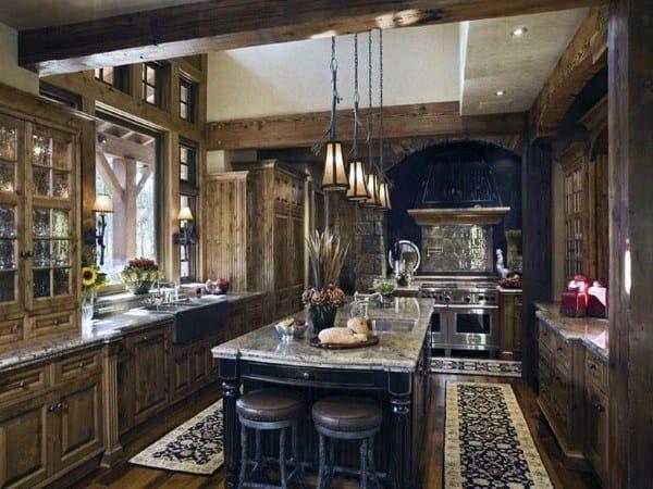 Top 60 Best Rustic Kitchen Ideas Vintage Inspired Interior Designs