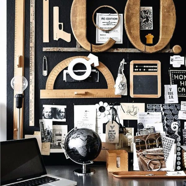 Masculine Decor 100 man cave decor ideas for men - masculine decorating designs