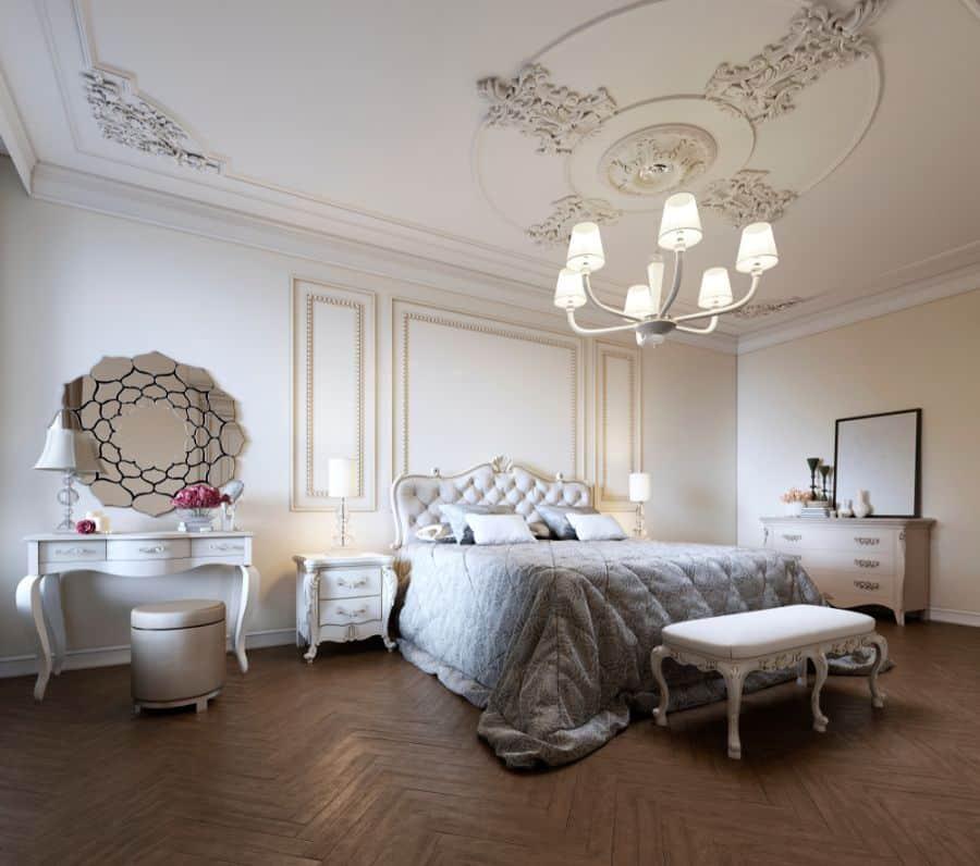 vintage romantic bedroom ideas 3
