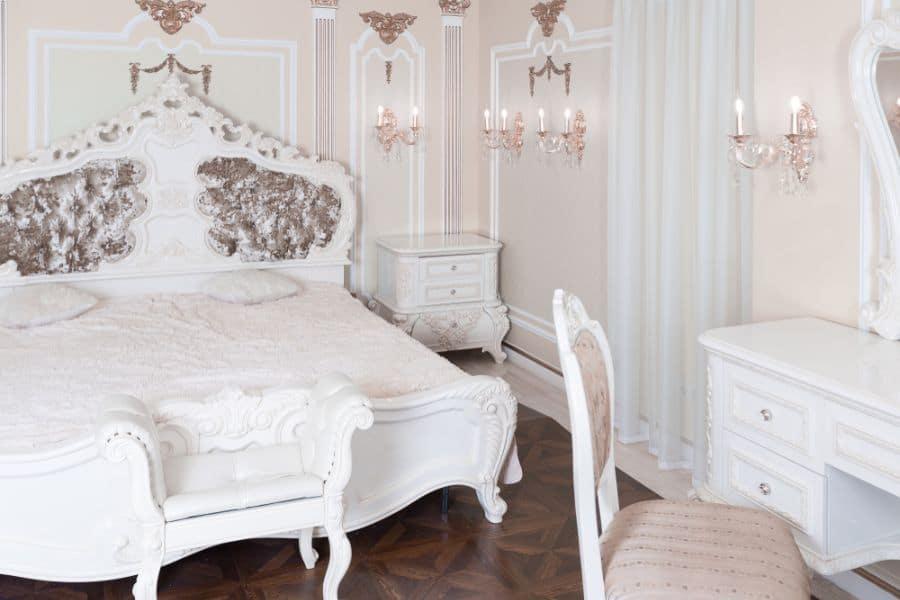 vintage romantic bedroom ideas 4