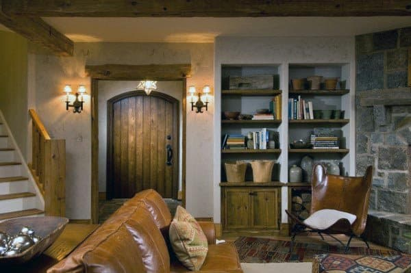 Vintage Rustic Basement Ideas