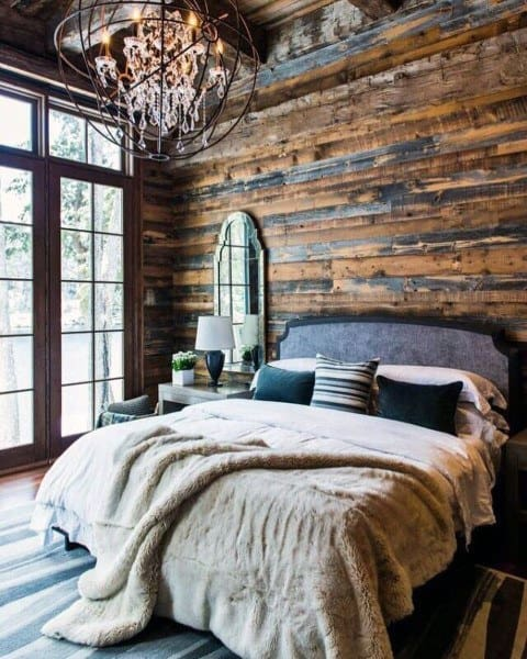 ideas to decorate bedroom top 40 best rustic bedroom ideas vintage designs 15601