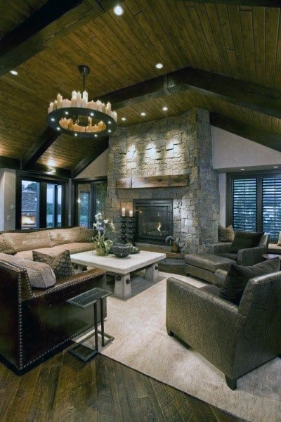 Vintage Rustic Living Room Design Ideas