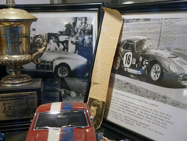 Vintage Shelby Racing Trophy