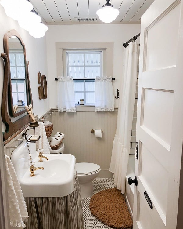 neutral small bathroom paint ideas