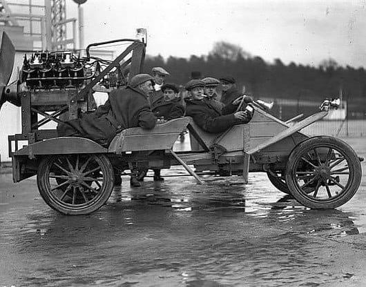 Vintage Strange Car